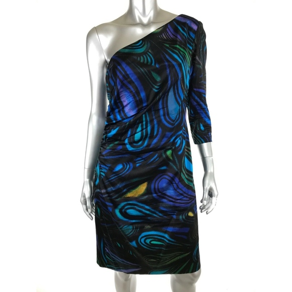Kay Unger Dresses & Skirts - Kay Unger Sheath Dress Sz 12 Silk Spandex Lined